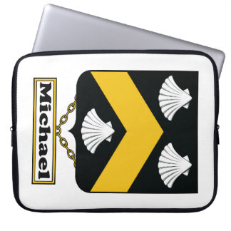 Michael Family Crest Laptop Sleeves