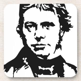 Michael Faraday Beverage Coaster