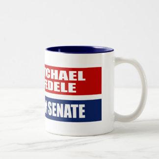 MICHAEL FEDELE FOR GOVERNOR Two-Tone COFFEE MUG