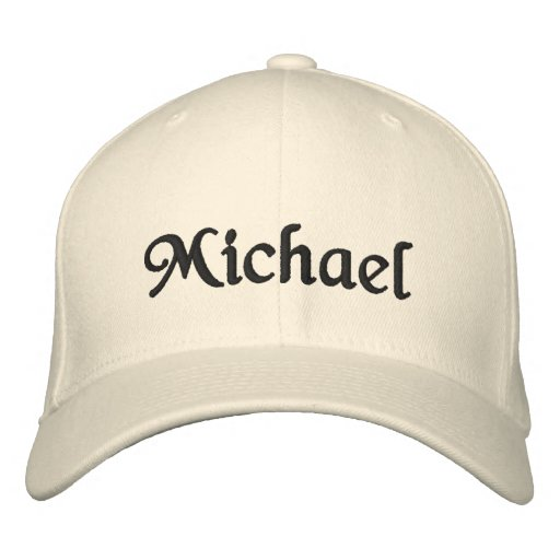 'Michael' hat for specific names! Embroidered Baseball Cap