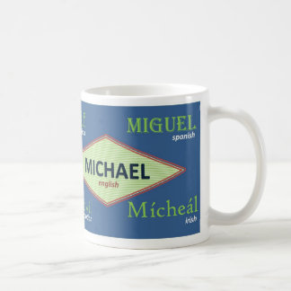 Michael International Name Mug