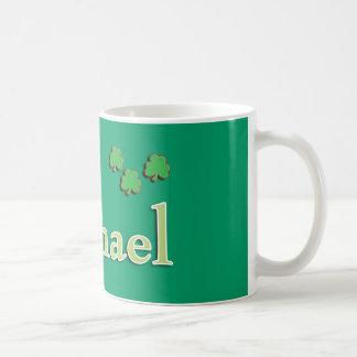 Michael Irish Classic White Coffee Mug