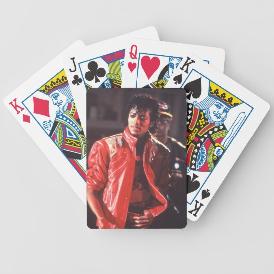 Michael Jackson | Beat It Video, 1983 Bicycle Playing Cards