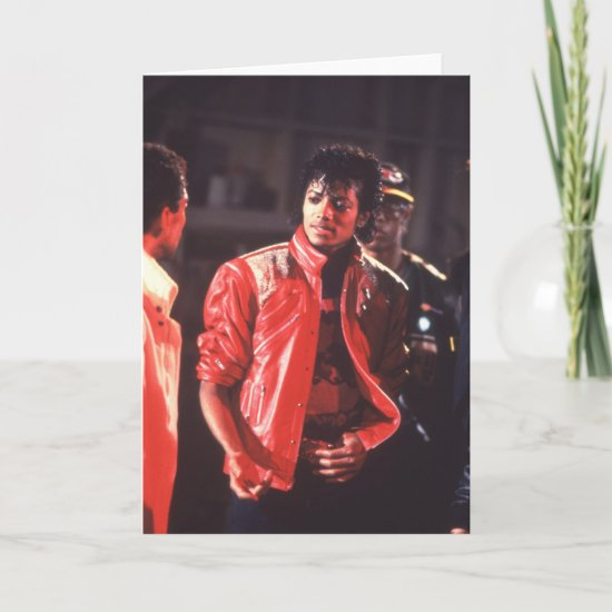 Michael Jackson | Beat It Video, 1983 Card