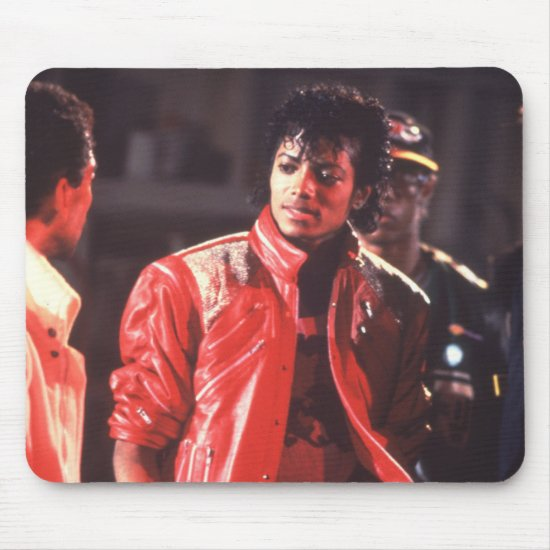 Michael Jackson | Beat It Video, 1983 Mouse Pad