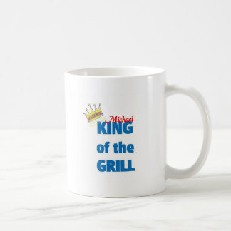 Michael king of the grill coffee mug