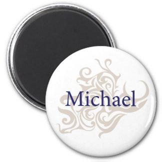 Michael 2 Inch Round Magnet
