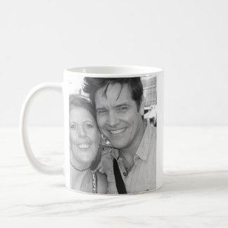 Michael & Me Classic White Coffee Mug