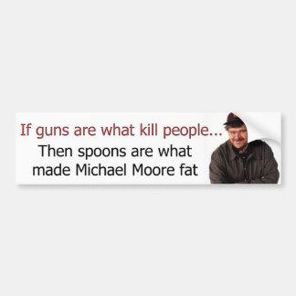 Michael Moore... How about a little Michael Less Bumper Sticker
