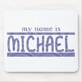 Michael Mouse Pad