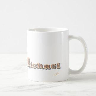 Michael Classic White Coffee Mug
