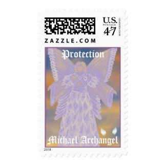 Michael-Personalizar del arcángel Sellos Postales