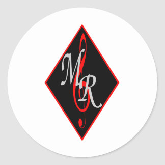 Michael Rose Logo Stickers