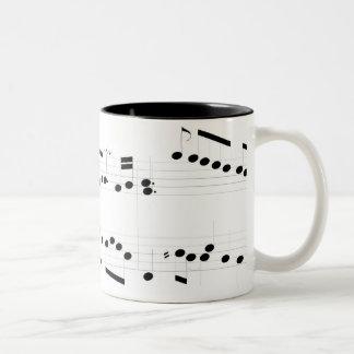 Michael Rose Music Score Mug
