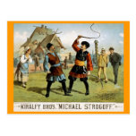 """Michael Strogoff"" Vintage Theater Post Cards"