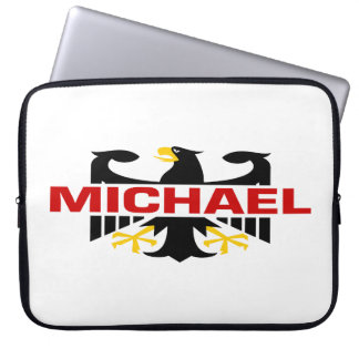 Michael Surname Laptop Sleeve