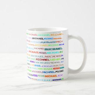 Michael Text Design II Mug II