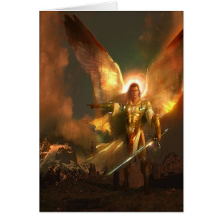 Michael the Archangel Greeting Card