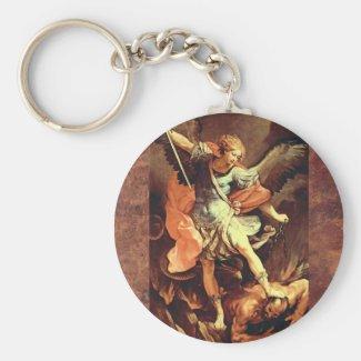 Michael the Archangel Keychain