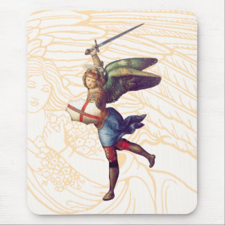 Michael the Archangel Mouse Pad