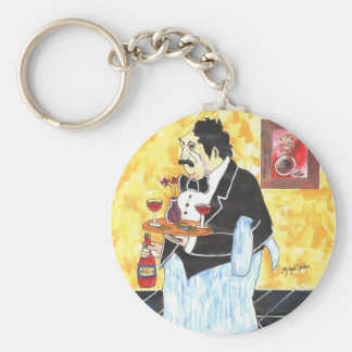 "Michael Washo's ""Anthony"" Basic Round Button Keychain"