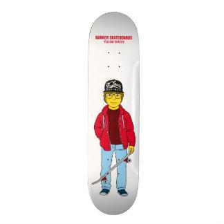 Michael - Yellow Skater - Barker Skateboards
