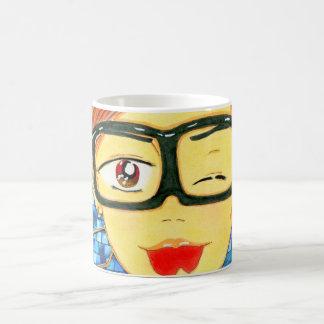 Michael Yoon en su taza de café