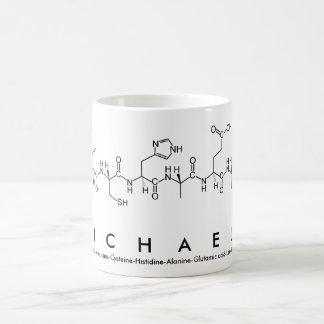 Michaela peptide name mug