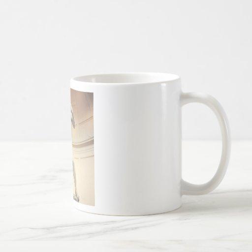 "Michaelangelo""s David Classic White Coffee Mug"