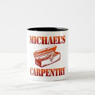 Michael's Carpentry Two-Tone Coffee Mug