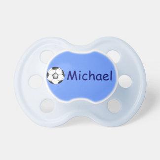 Michael's pacifier / soccer ball BooginHead pacifier