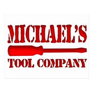 Michael's Tool Company Postcard