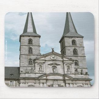 Michaelsberg Abbey in Bamberg Mousepad