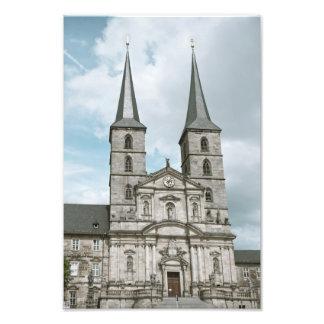 Michaelsberg Abbey in Bamberg Photo Print