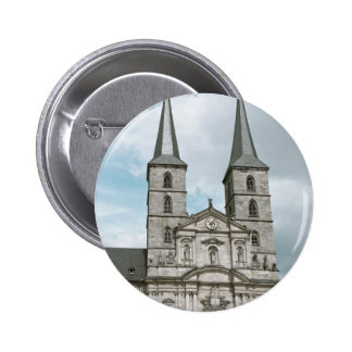 Michaelsberg Abbey in Bamberg Pinback Button