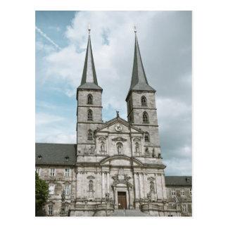 Michaelsberg Abbey in Bamberg Postcard