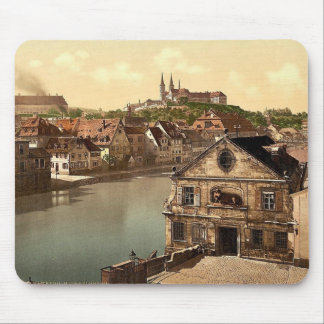 Michaelsberg, Bamberg, Bavaria, Germany vintage Ph Mouse Pads