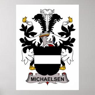 Michaelsen Family Crest Print