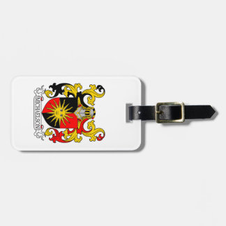 Michaelson Coat of Arms (Burke's General) Luggage Tag