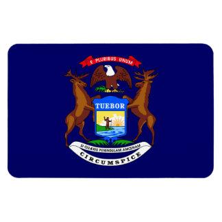Michagan State Flag Rectangular Photo Magnet