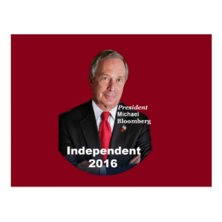 Micheal BLOOMBERG 2016 Postcard
