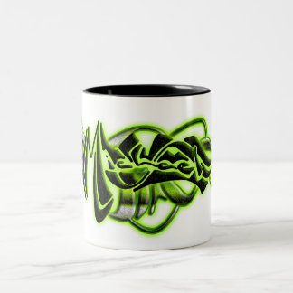 Micheal Two-Tone Coffee Mug