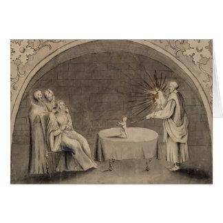 Michel de Nostradame  and Catherine Card