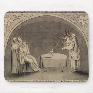 Michel de Nostradame  and Catherine Mouse Pad