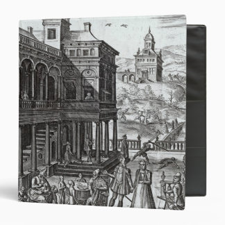 Michel de Nostradame  being consulted 3 Ring Binder