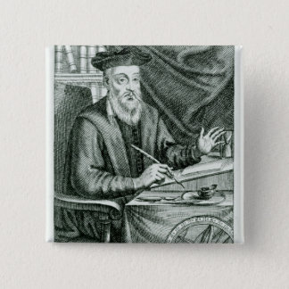 Michel de Nostredame Pinback Button