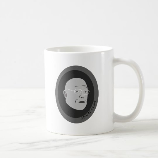 michel-foucault coffee mug