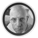 Michel Foucault Plate