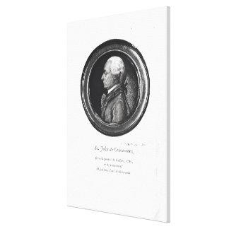 Michel-Guillaume-Jean de Crevecoeur Canvas Print