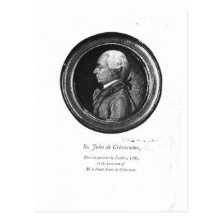 Michel-Guillaume-Jean de Crevecoeur Postcard
